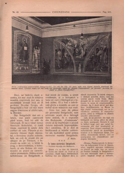 Cosînzeana : Revistă ilustrată săptămânală, Anul III, Nr. 42 (1913)