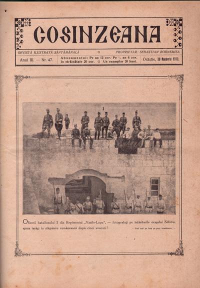 Cosînzeana : Revistă ilustrată săptămânală, Anul III, Nr. 47 (1913)