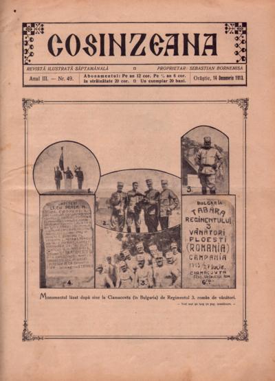 Cosînzeana : Revistă ilustrată săptămânală, Anul III, Nr. 49 (1913)