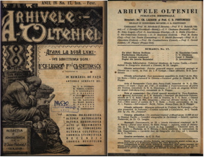 Arhivele Olteniei - 1925