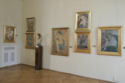 Interior al Muzeului de Artă din Craiova_74