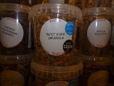 tub of granola