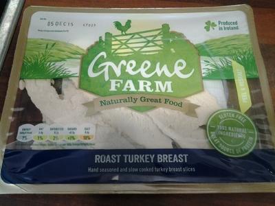 turkey breast slices in package