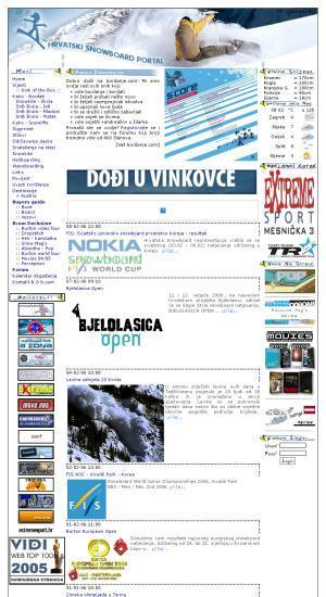 Hrvatski snowboard portal