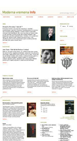 Moderna vremena info : portal za knjigu i kulturu