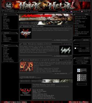 Hawk-metal : Croatian metal webzine