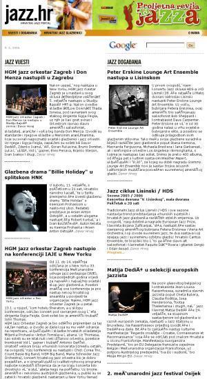 Jazz.hr : hrvatski jazz portal
