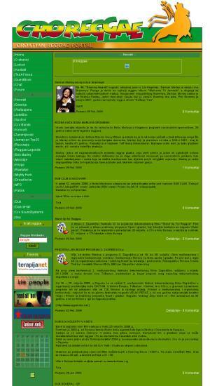 Croreggae : Croatian reggae portal
