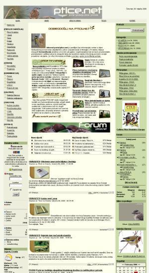 Ptice.net : internet portal o pticama