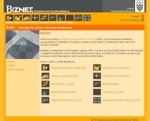 Biznet : inteligentni sustav poslovnih informacija