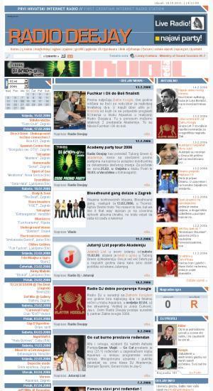Radio Deejay : prvi hrvatski internet radio : = first Croatian internet radio station