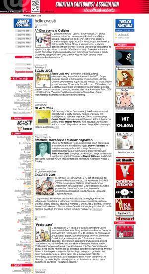 Hrvatsko društvo karikaturista : Croatian Cartoonist Association : the official web site