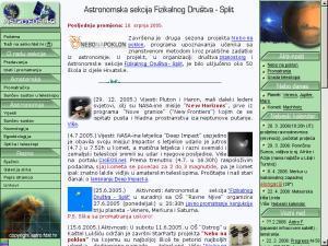 Astronomska sekcija Fizikalnog društva Split