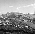 [Views of Snowdon from Llanddeiniolen]