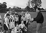 [Whitchurch Secondary Modern School football team]