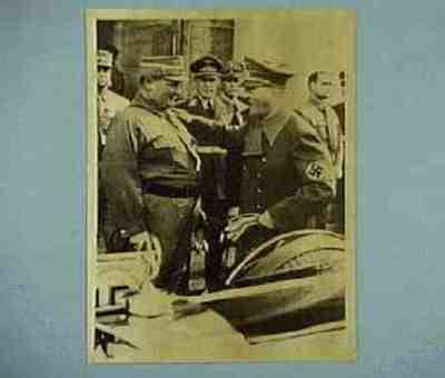 Hitler und Göring nach dem grossen Appell im Luitpoldhain