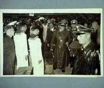 Göring besucht den Wehrmachtlager bei Gaismannshof