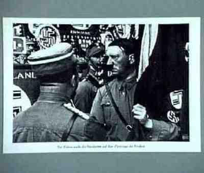 Portrait Adolf Hitler