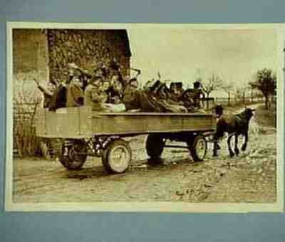 Entlassung aus dem RAD. Lager 8/42 Blumberg