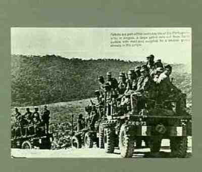 Portuguese army in Angola