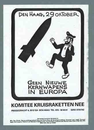 Geen nieuwe kernwapens in Europa (kapitein Haddock)