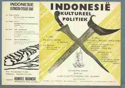Indonesië kultureel politiek Lezingen-cyclus