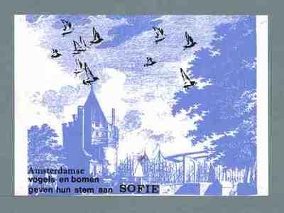 Amsterdamse vogels en bomen geven hun stemmen aan Sofie