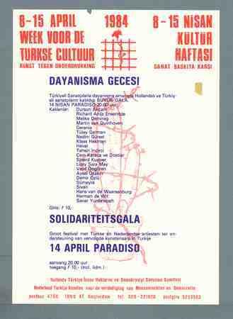8-15 april week voor de Turkse cultuur