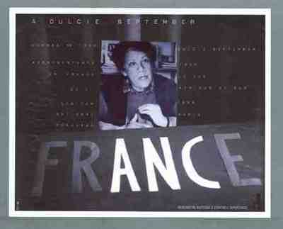 A Dulcie September - nommee en 1984 representante en France de l'African National Congress