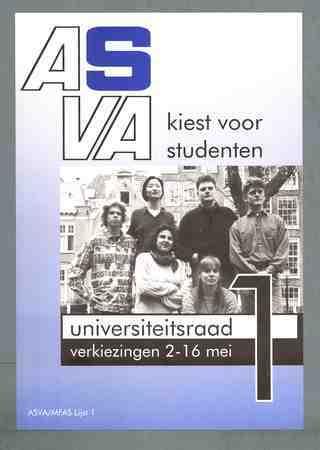 ASVA kiest voor studenten