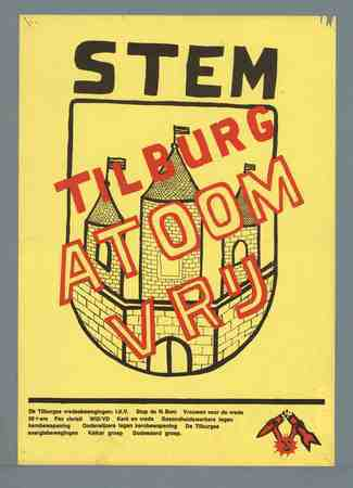 Stem Tilburg atoomvrij