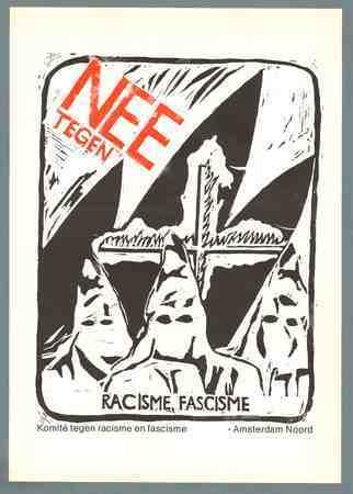 Nee tegen racisme fascisme