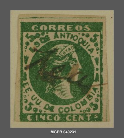 5 centaus Al·legoria de la llibertat