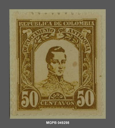 50 centaus José María Córdova
