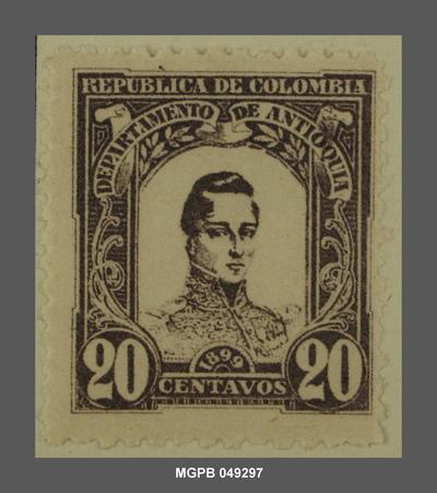 20 centaus José María Córdova