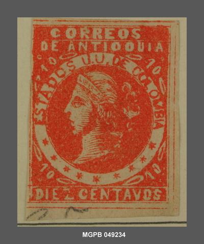 10 centaus Al·legoria de la llibertat