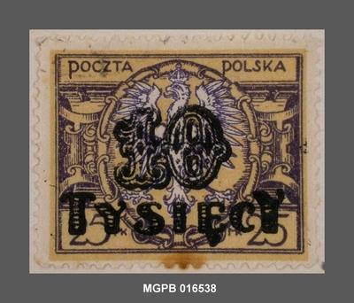 10000 s. 25 marcs Escut de Polònia