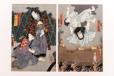 Escena de teatre kabuki