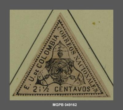 2 1/2 centaus Escut dels Estats Units de Colòmbia