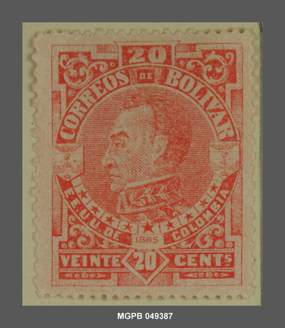 20 centaus Simón Bolívar