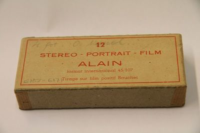 STEREO - PORTRAIT - FILM ALAIN