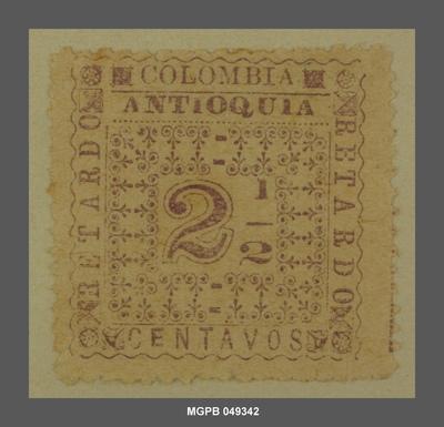 2 1/2 centaus Motius ornamentals