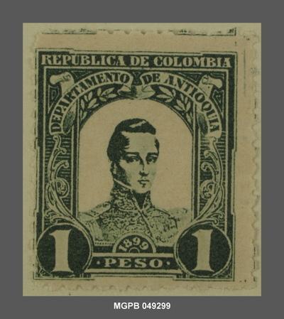 1 peso José María Córdova