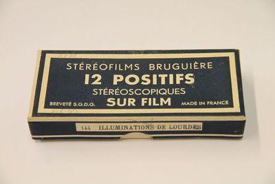 Stéréofilms Bruguière. Illuminations de Lourdes