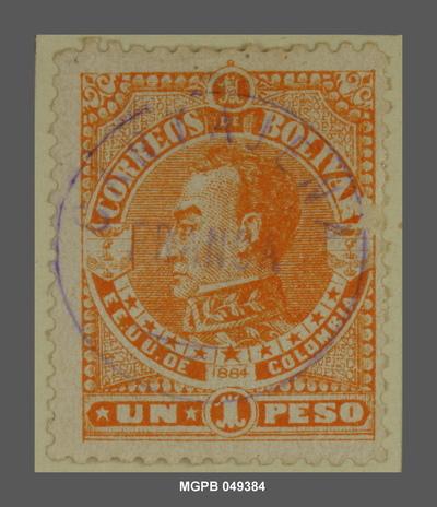 1 peso Simón Bolívar