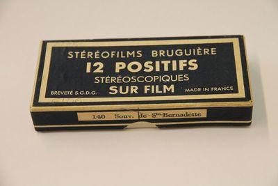 Stéréofilms Bruguière. Souv. de Ste. Bernadette