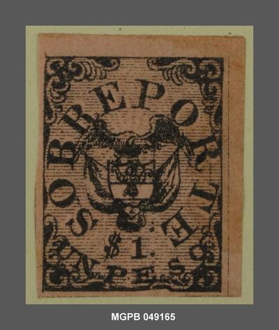 1 peso Escut dels Estats Units de Colòmbia
