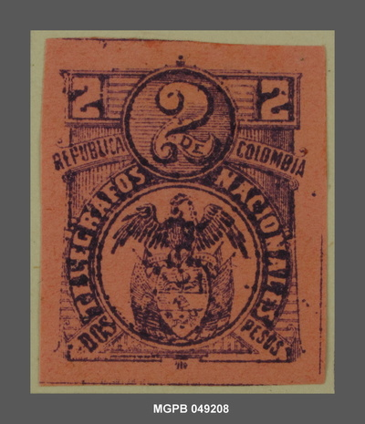 2 pesos Escut de la República Colòmbia