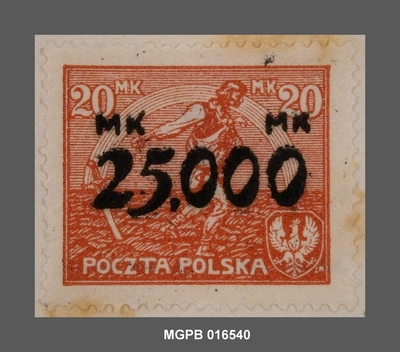 25000 s. 20 marcs Al·legoria de l'Esperança