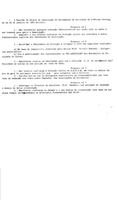 Comunicado nº 16 das Associações de Estudantes